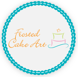Frosted Cake Art Logo