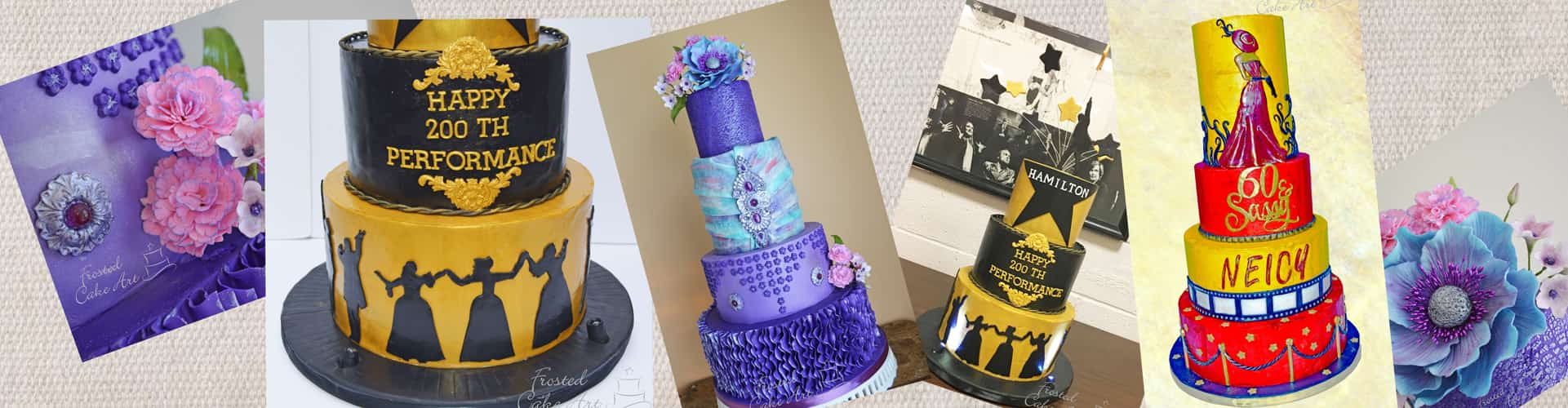 Wedding Cakes - Frosted Cake Art - Chagrin Falls, Solon, Cleveland
