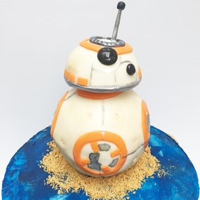 Birthday Cake-Star Wars Cake-BB8 Cake-Bakery