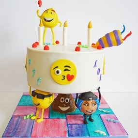 Wedding Cake-Emoji Cake - Birthday Cake - Bakery