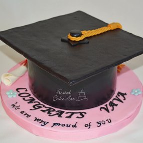 Graduation Cake - Custom Cake - Local Bakery