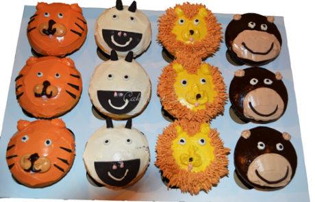 AnimalCupcakes-Cupcakes