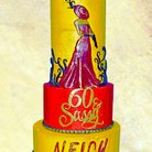 Hollywood Cake - Tall Cake - Wedding Cake - Birthday Cake
