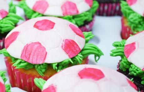 Soccer-Cupcakes