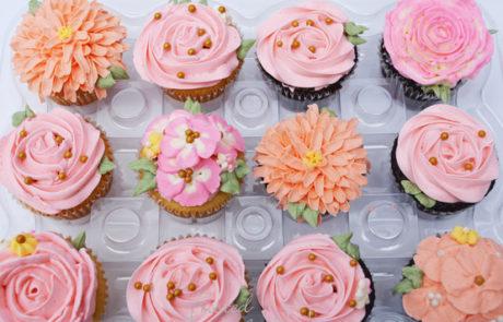 Flower Cupcake - customer cake - speciality cake
