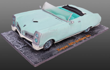 Car Cake - Pontiac Cake - Custom Cake - Wedding Cake - Special Occasion Cake