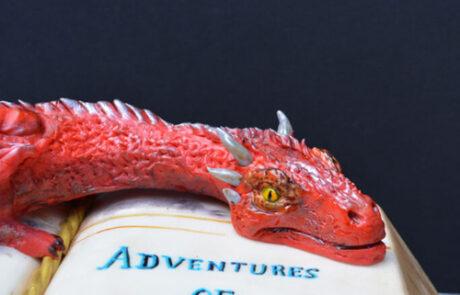 Dragon Book cake