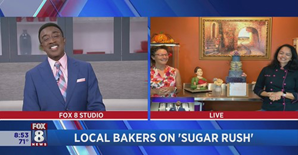 Fox8 news Netflix Sugar Rush Frosted Cake Art