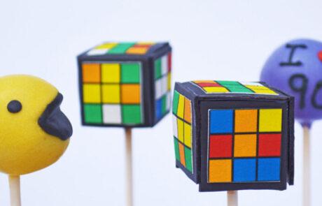 90s object cake pop