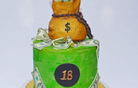 MoneyBag Cake Gallery 500x500