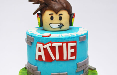 Robolox Birthday Cake Gallery 500x 500