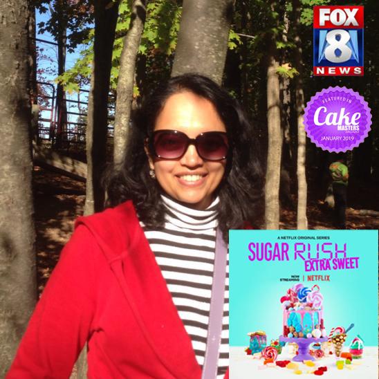 Seema Acharya Frosted Cake Art Netflix Fox8 sugar rush cake masters