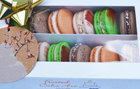 Macaron Holiday Gift Box
