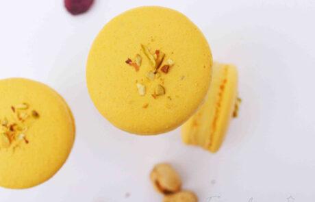 Rasmalai Macaron