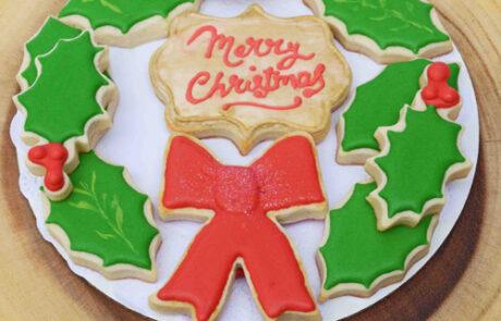 Wreath Cookie Gift Set